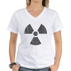 Radioactive Womens V-Neck T-Shirt
