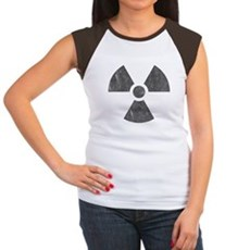 Radioactive Womens Cap Sleeve T-Shirt
