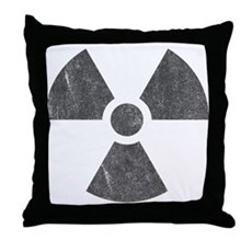Radioactive Throw Pillow