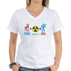 Super Powers Women's V-Neck T-Shirt