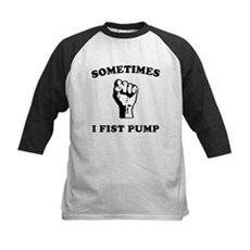 Sometimes I Fist Pump Kids Baseball Jersey