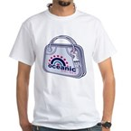 Flight 815 Lost Luggage White T-Shirt