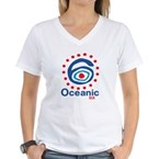 Oceanic 6 Women's V-Neck T-Shirt