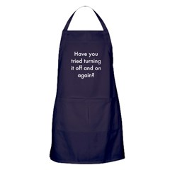 The IT Crowd Apron (dark)