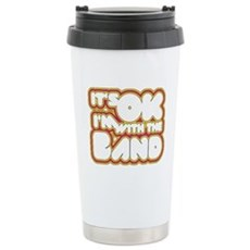 I'm With The Band Stainless Steel Travel Mug