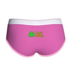 Who's Your Paddy? Womens Boy Brief