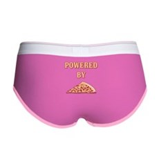 Powered By Pizza Womens Boy Brief