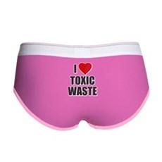 I Love [Heart] Toxic Waste Womens Boy Brief