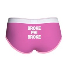 Broke Phi Broke Womens Boy Brief