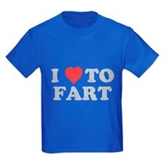 I Love To Fart Kids T-Shirt