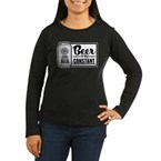 Beer Is My Constant Women's Long Sleeve Dark T-Shi