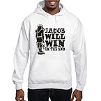 Jacob Will Win Hooded Sweatshirt