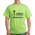 Ankh Messaging Service Green T-Shirt