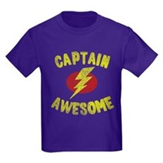 Captain Awesome Kids T-Shirt