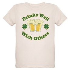 Drinks Well With Others Organic Kids T-Shirt