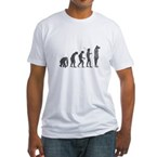 Evolution - Lost statue Fitted T-Shirt