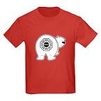 Dharma Bear Kids Dark T-Shirt