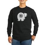 Dharma Bear Long Sleeve Dark T-Shirt