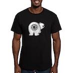 Dharma Bear Men's Fitted T-Shirt (dark)
