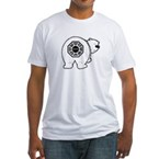 Dharma Bear Fitted T-Shirt