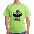 OMG Smoke Monster Green T-Shirt