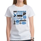 Lost Quotes and Symbols Women's T-Shirt