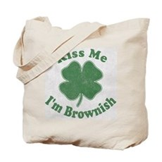 Kiss Me I'm Brownish Tote Bag