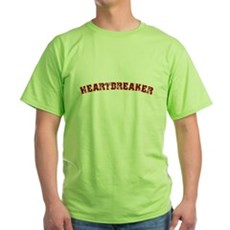 Heartbreaker Green T-Shirt