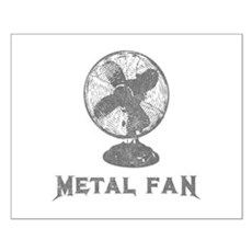 Metal Fan Small Poster