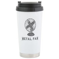 Metal Fan Stainless Steel Travel Mug