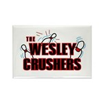 Wesley Crushers Rectangle Magnet (10 pack) - Be a part of the best bowling team for geeks - The Wesley Crushers! This merchandise will make a bang with your friends. A big one. In theory.