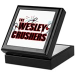 Wesley Crushers Keepsake Box - Be a part of the best bowling team for geeks - The Wesley Crushers! This merchandise will make a bang with your friends. A big one. In theory. - Availble Colors: Black,Mahogany