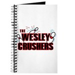 Wesley Crushers Journal - Be a part of the best bowling team for geeks - The Wesley Crushers! This merchandise will make a bang with your friends. A big one. In theory.