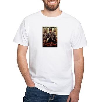 Sieg White T-Shirt