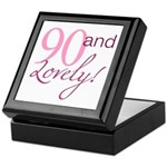 90 And Lovely Keepsake Box