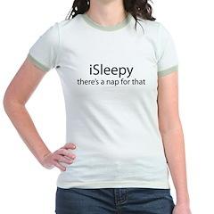 iSleepy Jr. Ringer T-Shirt