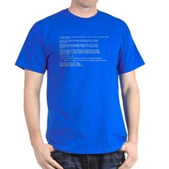 Blue Screen of Death (BSOD) T-Shirt