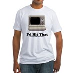 I'd Hit That Fitted T-Shirt