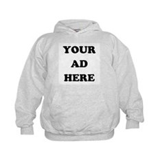 Your Ad Here Kids Hoodie