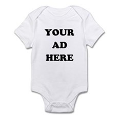 Your Ad Here Infant Bodysuit