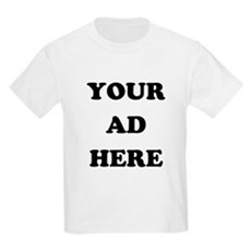 Your Ad Here Kids Light T-Shirt
