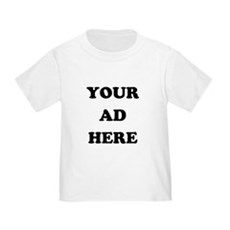 Your Ad Here Toddler T-Shirt