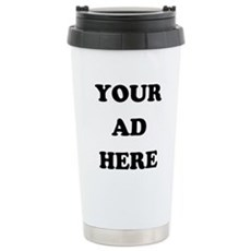 Your Ad Here Stainless Steel Travel Mug