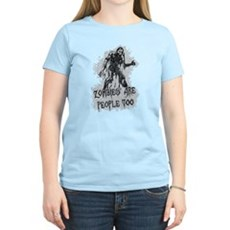 Zombies Are People Too Womens Light T-Shirt