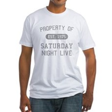 Property of SNL Fitted T-Shirt
