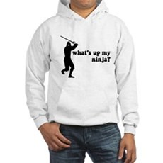 what's up my ninja? Hooded Sweatshirt