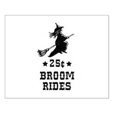 25 Cents Broom Rides Small Poster