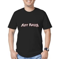 Roy Rules Mens Fitted Dark T-Shirt