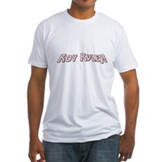 Roy Rules Fitted T-Shirt