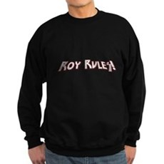 Roy Rules Dark Sweatshirt